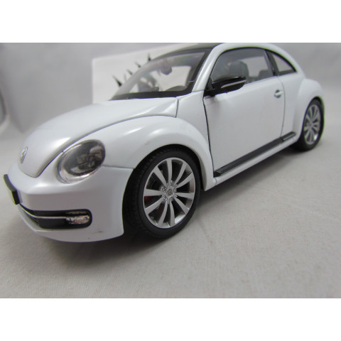 VW Fusca 2014 New Beetle Branco 1:24 Welly
