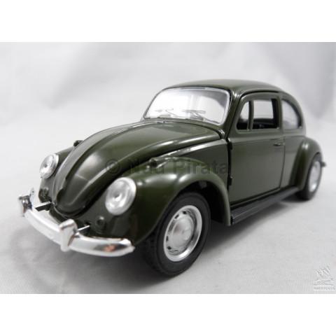 VW Fusca (Old Beetle) 1967 Verde Sunnyside 1:32 Abre Capô