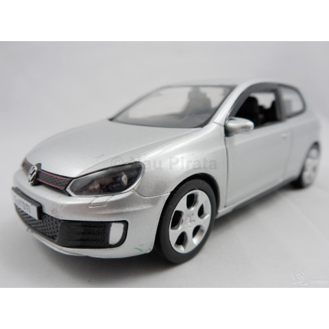VW Golf GTI 2013 Prata 1:36 RMZ City