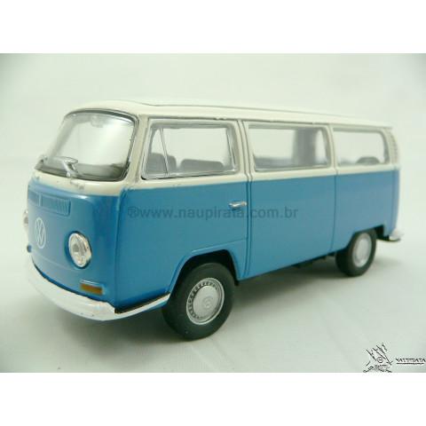 VW Kombi T2 1976 - 2005 Azul Welly