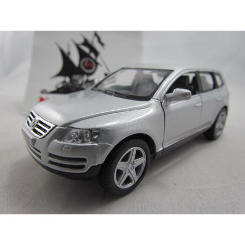 VW Touareg Prata Kinsmart 1:36