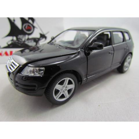 VW Touareg Preto Kinsmart 1:36