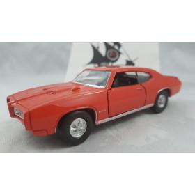 1969 Pontiac GTO Laranja Welly 1:36