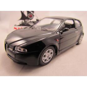 Alfa 147 GTA Preto Kinsmart 1:32