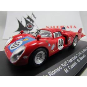 Alfa Romeo - 33/2 Autodelta S.P.A. Nº 40 Le Mans 1968 M. CASONI - G. BISCALDI - Top Model Collection - 1:43