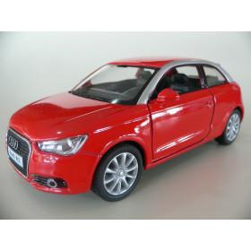 Audi A1 2010 Vermelho Kinsmart 1:32