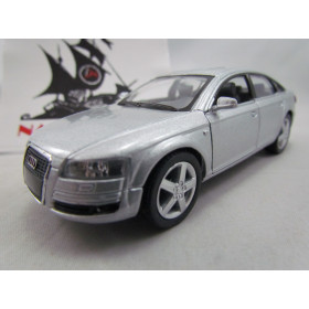Audi A6 Prata Kinsmart 1:38