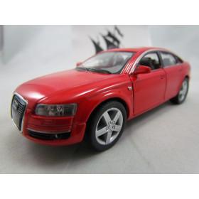 Audi A6  Vermelho Kinsmart 1:38