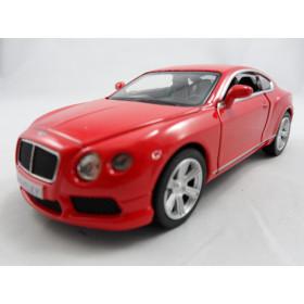 Bentley Continental GT V8 2012 Vermelho RMZ City 1:40