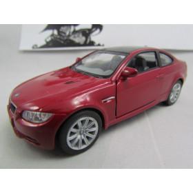 BMW M3 Coupe 2009 Vermelho 1/36 Kinsmart