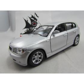 BMW Serie 1 Prata Kinsmart 1:34