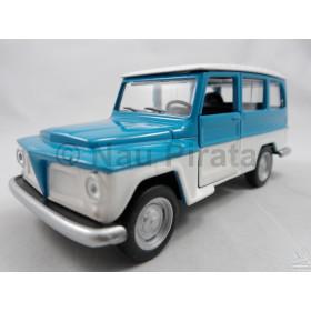 Carros Brasileiros - Nacionais II Ford Rural 1972 1:43