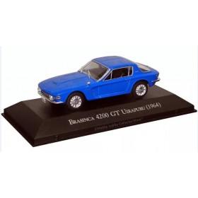 Carros Inesquecíveis do Brasil Brazinca Uirapuru 4200 GT Azul 1:43 IXO