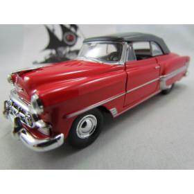 Chevrolet Bel Air 1953 Fechado Vermelho Welly