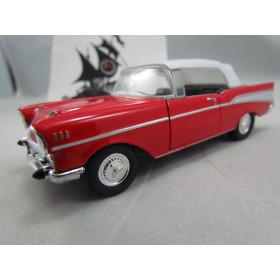 Chevrolet Bel Air 1957 Fechado Vermelho Welly