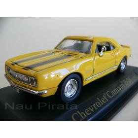 Chevrolet Camaro Z-28 Amarelo 1967- Yatming 1:43