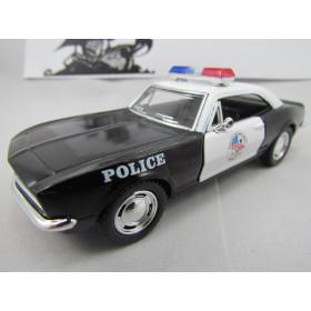 Chevrolet Camaro Z28 Z/28 1967 Polícia Kinsmart 1:37