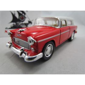 Chevy Nomad 1955 Vermelho Kinsmart 1:40