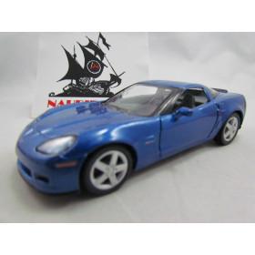 Corvette Z06 2007 Azul Kinsmart 1:36