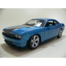 Dodge Challenger SRT8 2008 Azul  Maisto 1:24