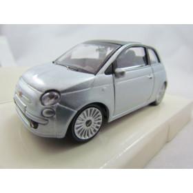 Fiat 500 Prata Mondo Motors 1:43