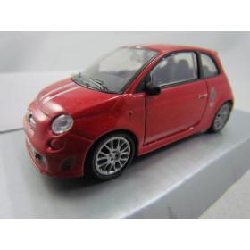 Fiat 500 Tributo Ferrari Vermelho Mondo Motors 1:43