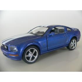 Ford Mustang GT 2006 Azul Kinsmart 1:38