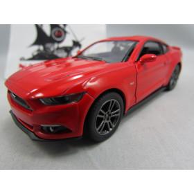 Ford Mustang GT 2015 Vermelho Kinsmart 1:38