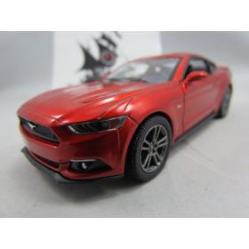 Ford Mustang GT 2015 Vermelho Metálico Kinsmart 1:38