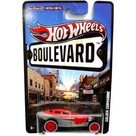 Hot Wheels Boulevard Case B - Golden Submarine - 1:64