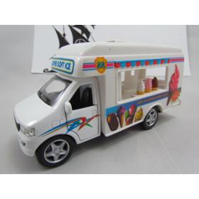 Ice Cream Truck Food Fast Food Caminhão Sorvete Kinsmart 1:40