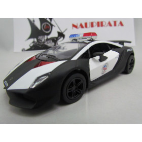 Lamborghini Sesto Elemento Polícia Kinsmart 1:38