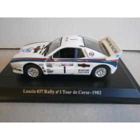 Lancia 037 Rally nº 1 Tour de Corse - 1982 1:43 Hachette