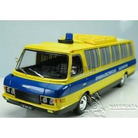Lendas Russas Ônibus ZIL 118 Polícia Laboratório Criminal #01 1:43 IXO