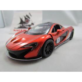 McLaren P1 Exclusive Edition Laranja Kinsmart 1:36