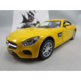 Mercedes-Benz AMG GT Amarelo Kinsmart  1:36