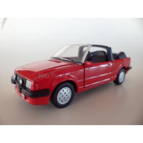 Miniatura Clássico Nacional FORD Escort XR3 Conversível 1985 1:38
