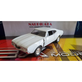 Oldsmobile 442 1968 Branco Welly 1:43