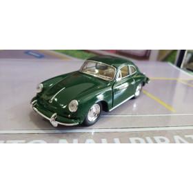 Porsche 356 B Carrera 2 Verde Kinsmart 1:32