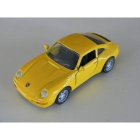 Porsche 911 Carrera Amarela Maisto 1:36