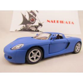 Porsche (Matte) Carrera GT Azul Fosco Kinsmart 1:36