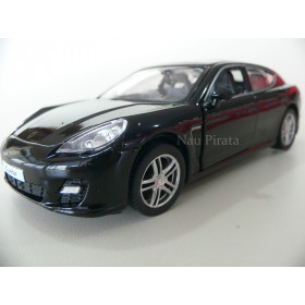 Porsche Panamera Turbo Preto RMZ City 1:38