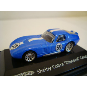 Shelby Cobra Daytona Coupe Azul Mattel 1:87