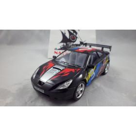 Toyota Celica Preto Série Street Fighter Kinsmart 1:32