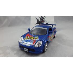 Toyota MR2 Sport Azul Série Street Fighter Kinsmart 1:32