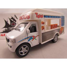 Truck Food Fast Food Caminhão Tacos Mexicanos Comida Kinsmart 1:40