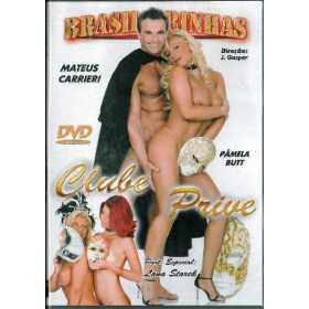 Dvd Clube Prive Mateus Carrieri Brasileirinhas Original