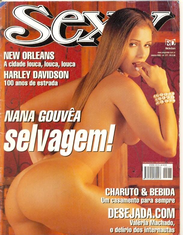 Revista Sexy Nana Gouvea 277 Jan 2003 Original*