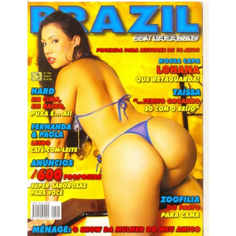 PROMOÇÃO - Revista Brazil  Lohana 105 Ano X Original*