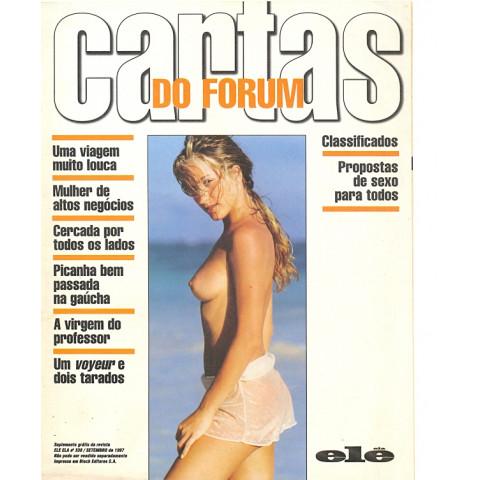 Revista Ele Ela Cartas do Forum 338 Set 1997 Original*